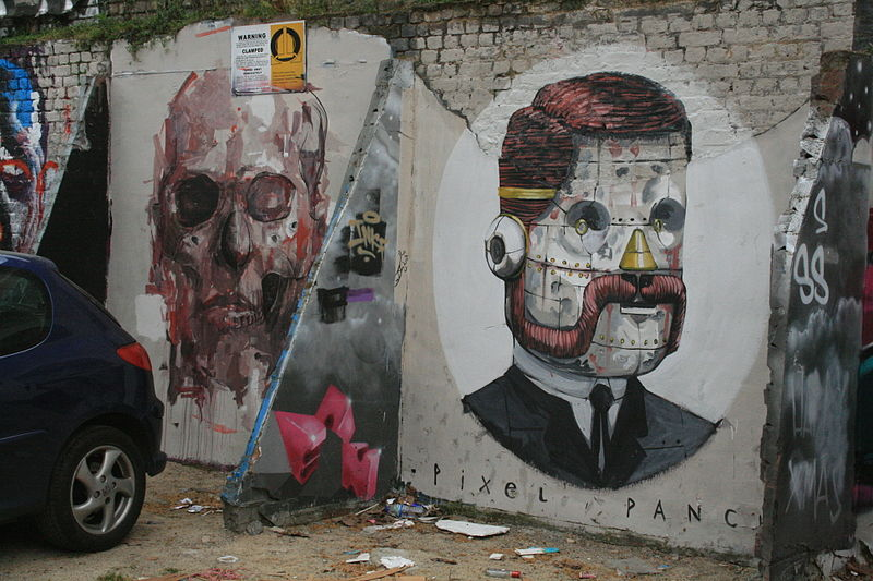 Pixel Pancho murales