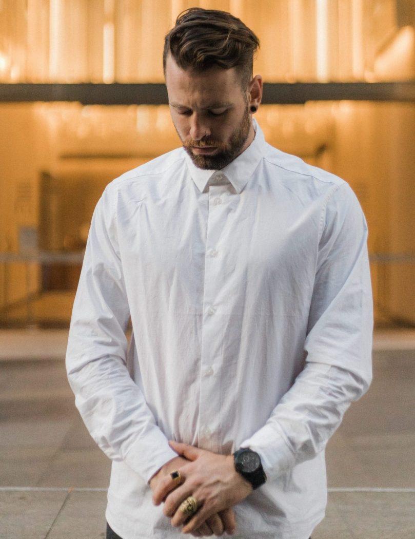 camicia outfit autunnale uomo foto