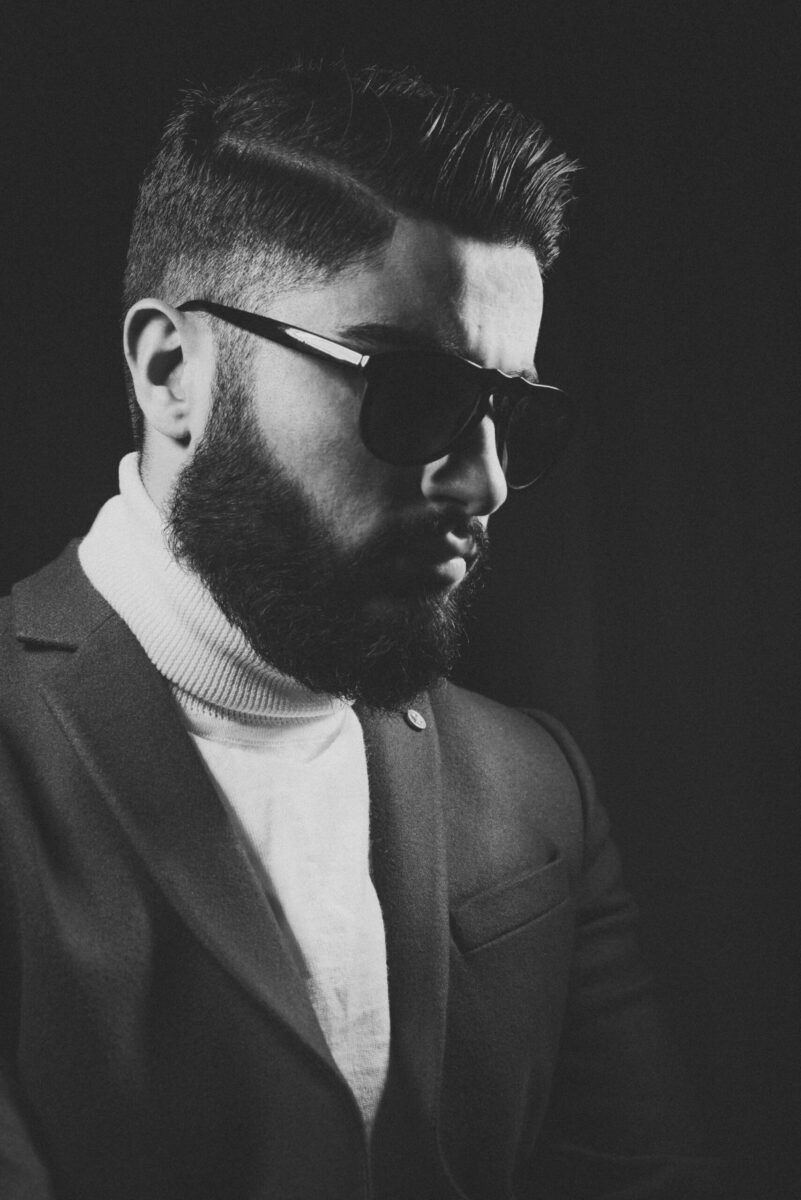 barba maschile foto